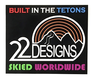 22 Designs Sticker